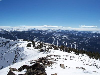 Looking south from the summit of Ralston Peak, 9235'.