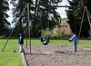 Swinging in Ravenna Park