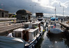 Boats in the Chittenden Locks
