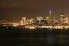 San Francisco Skyline, Alcatraz, California