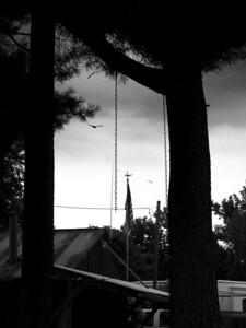 Chains & Flag