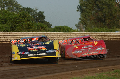 21 Billy Moyer and 18 Shannon Babb