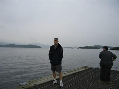 Kevin at Loch Lomond