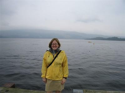 Sarah at Loch Lomond