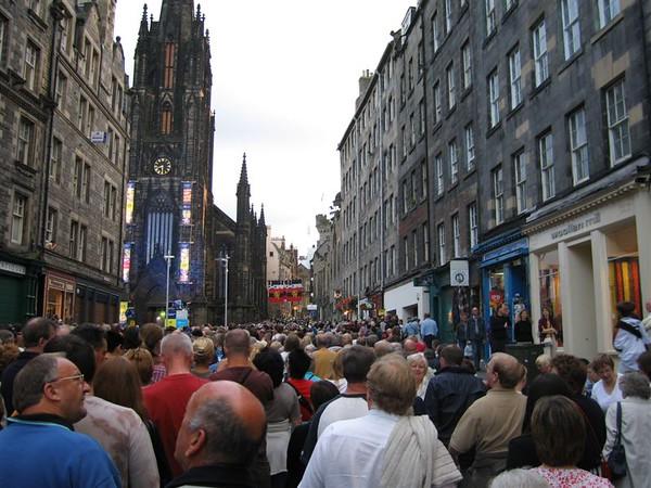 Day 8 - Edinburgh Scotland Festival - Military Tattoo
