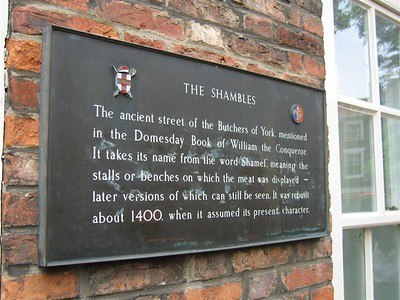 what are the Shambles?