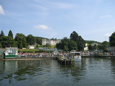 Bowness town from the Windemere