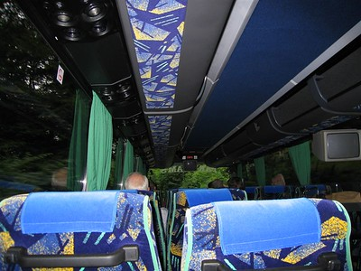 Deluxe Bus accomodations