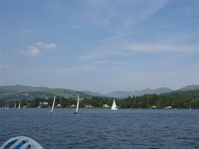 Sailboats on the Windemere
