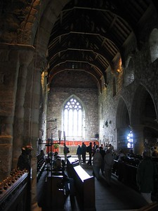Iona Abbey Chapel