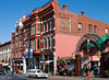 Market Square, an example of some of the fun older commercial architecture downtown
