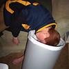Dan Sleeping in the Trash