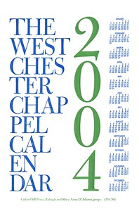 Cover, 2004, Cedar Cliff Press