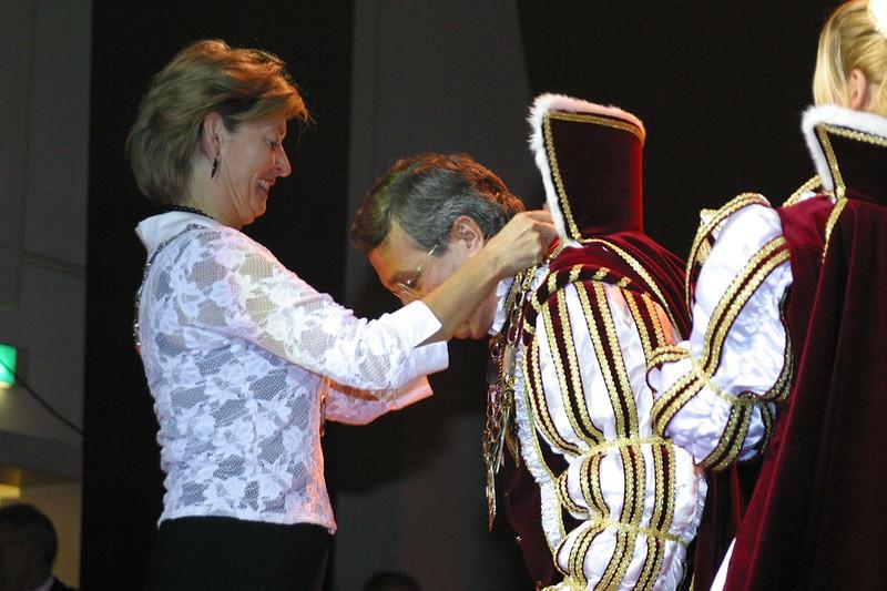 Prinsenproclamatie met Burgemeester Guusje ter Horst