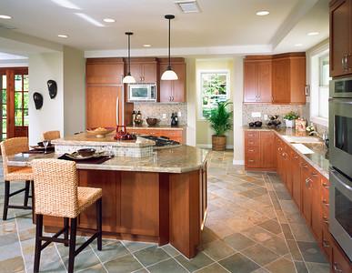 Contemporary Kitchen In Coastal Home
