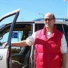Doug and his Navigator; paid much more than the going rate of $3 for this big truck; but a great wash!