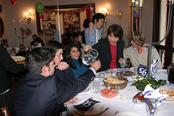 Advisor Dinners 2005