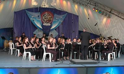 Lancer Symphonic Band at Epcot