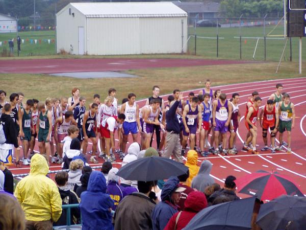 2005 Edmonds Invite:  Boys' Races