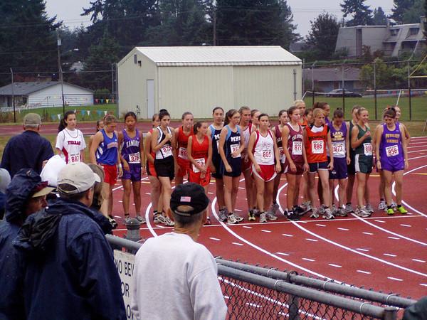 2005 Edmonds Invite:  Girls' Races