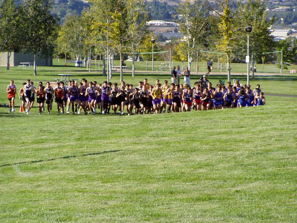 2005-09-13 Big 9 League Meet @ Wenatchee