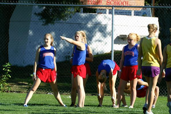 2005 Big 9 @ Eastmont:  Junior Varsity Girls