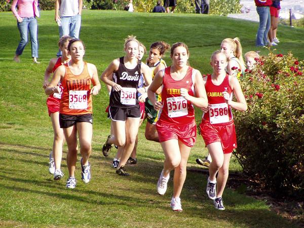 2005 Big 9 @ Davis:  Junior Varsity Girls