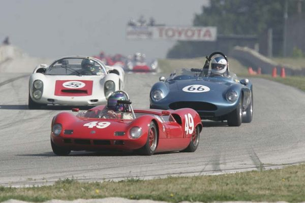 No-0508 Race Group  3 - Vintage Sports Racing Cars