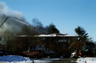 Photo's from Bergenfield Apt. Building Explosion Fatal job 2005