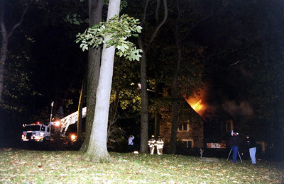 Photo's from Englewood 3rd alarm North Woodland Avenue 2005
