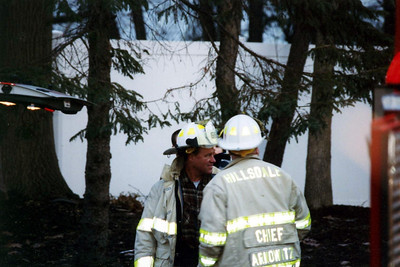 Photo's from Woodcliff Lake 3rd alarm House Fire 2005