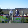 Paul Housand and Billy Housand are putting a deck on top of the Folly Boat to help keep the trash out. People used to put paint cans, brushes, and trash in the boat after they painted it,causing an environmental hazard. Please help us protect your boat. It is a landmark, but the state can take it away...<br /> <br /> Thanks Guys, a good job. Folly Beach is proud.              <br />                                            02-13-05