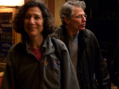 Jill Mesirov and Gene Myers at RECOMB 2005