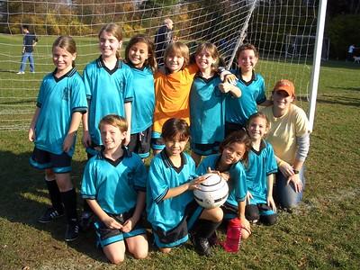 Back row L to R:  Kate, Abigail, Alex, Rachael, Isabel,  Front row: Sia, Katy, Kristen, Michela, Summer