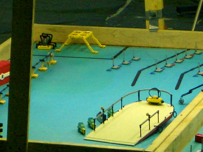 Each robot had a number of tasks to accomplish on their own field.
