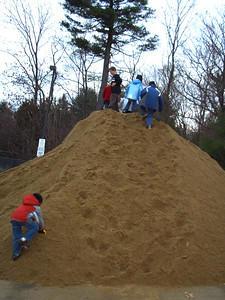 The sand pile at Boojum