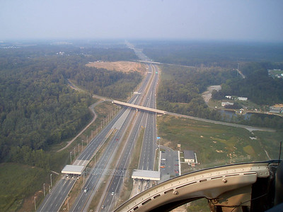 notice how nobody drives on the toll road.  Keep in mind this is rush hour