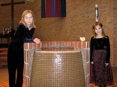 Loomis Xmas and Brady Baptism