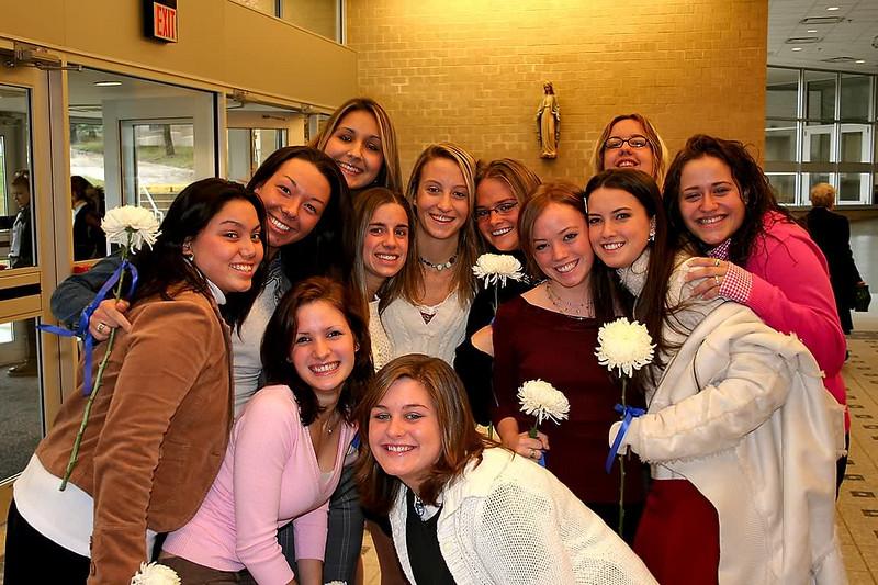 a senior group