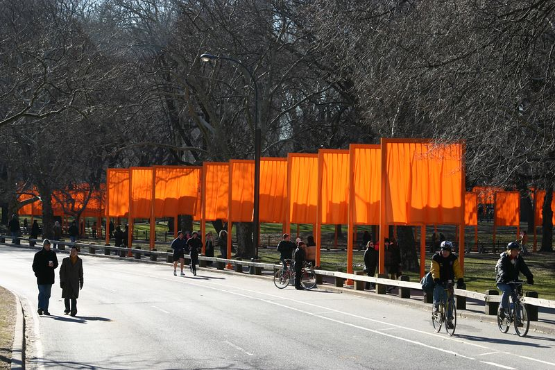 "Central Park - ""The Gates"" - February 19, 2005"