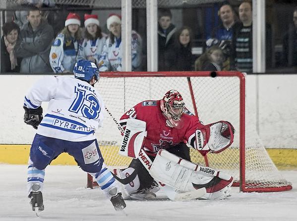 Blaze v Cardiff Devils - 18/11/2005