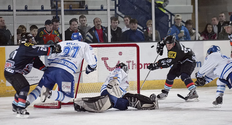 Blaze v Sheffield Steelers - 01/01/2006