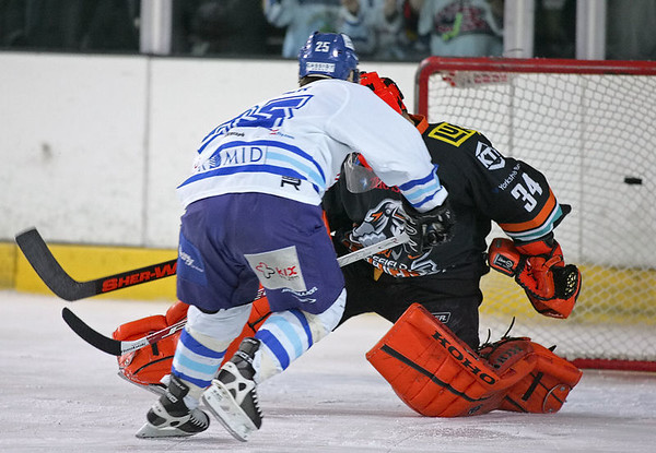 Blaze v Sheffield Steelers - 12/03/2006