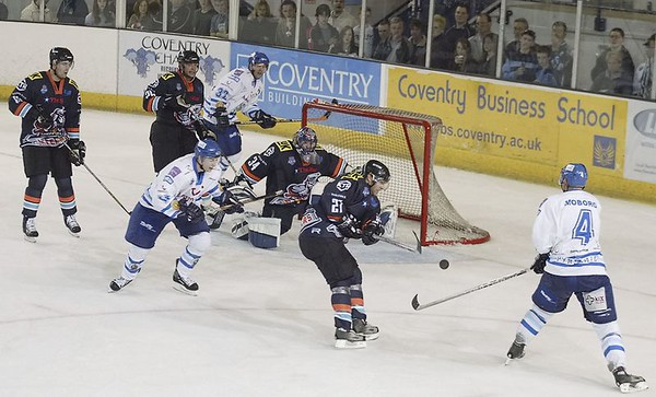 Blaze v Sheffield Steelers - 23/10/2005