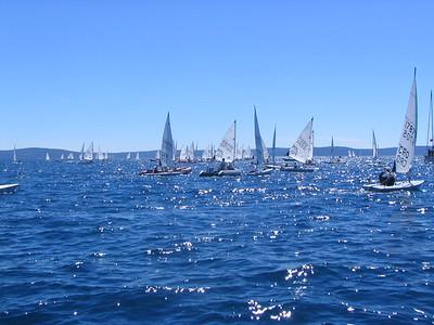 2005 Laser Radial European Championships, Split, Croatia