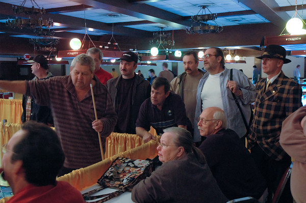 33. Ronnie Allen holding Cue, Truman Hogue, 'The Beard', Grady and Randi Mathews