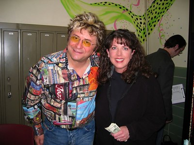Jim Peterik and I at the WAMI Songwriting seminar. Jim wrote so many great songs : Vehicle, The Search Is Over, Eye of the Tiger.  So cool to meet him!  This seminar was the day before the awards show.
