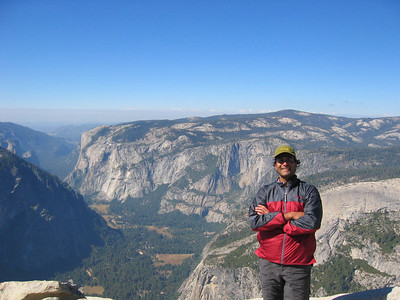 half dome solo hike, oct 2005