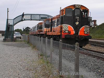 The Rosslare Rambler Railtour. Saturday 25th June 2005