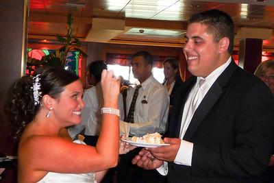 Katie & Evan Cake Eating